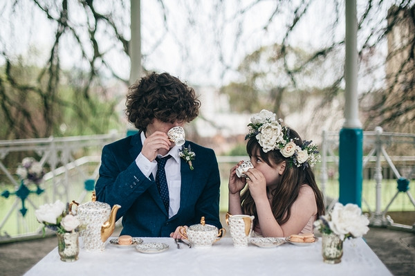Afternoon Tea in the Park Styled Wedding Shoot