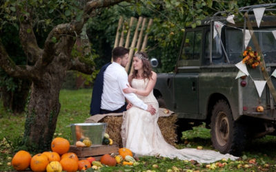 Seasonal Autumn Wedding Styling at Deer Park