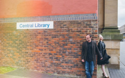 An Engagement Shoot at Middlesbrough Reference Library
