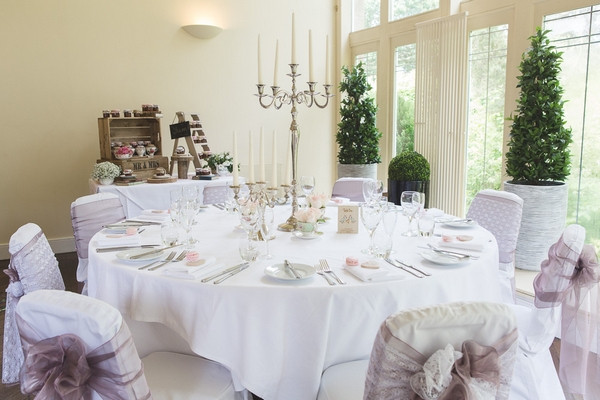 Wedding table in Horton Grange