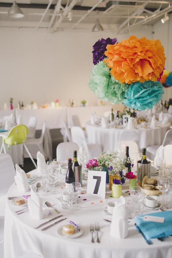 Wedding table at Fazeley Studios