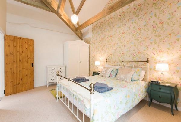 Bedroom at Cosawes Barton