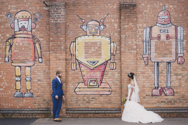 A Colourful Wedding at Fazeley Studios
