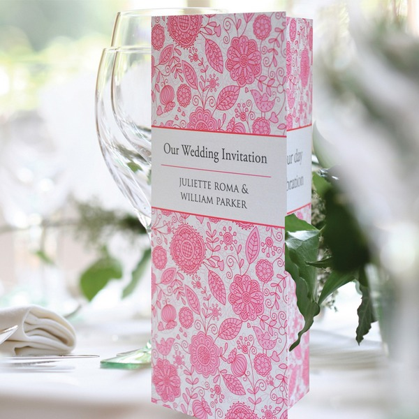 Love Birds Wedding Invitation - Paperchain Wedding Stationery
