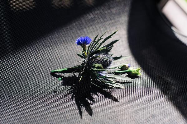 Thistle buttonhole