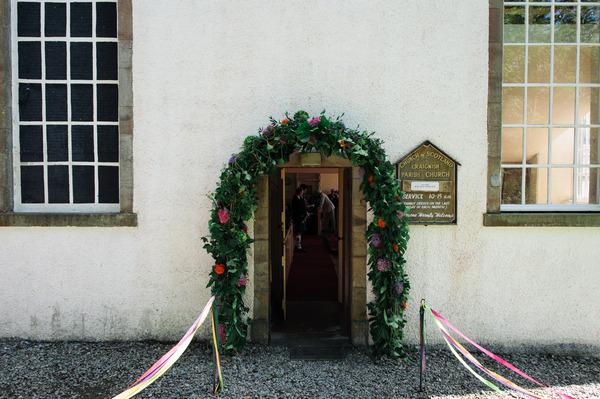 Entrance to Church of Scotland, Ardfern