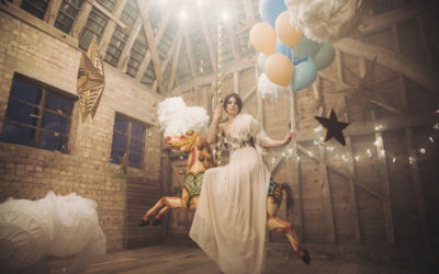 'Take Me to the Clouds Above' Styled Wedding Shoot