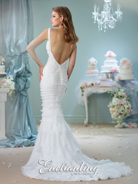 Picture of Back of 116121 Wedding Dress - Enchanting by Mon Cheri Spring 2016 Bridal Collection