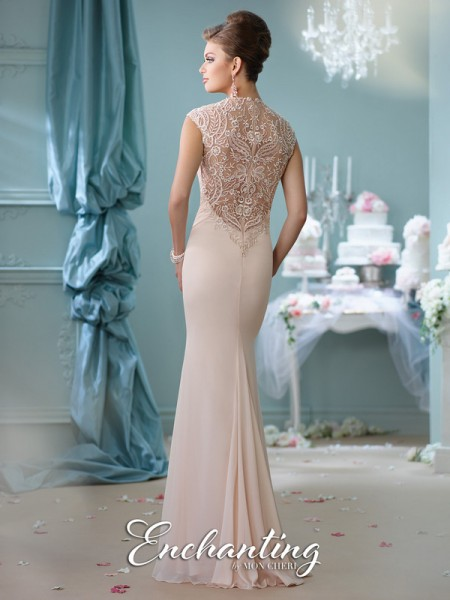 Picture of Back of 116128 Wedding Dress - Enchanting by Mon Cheri Spring 2016 Bridal Collection