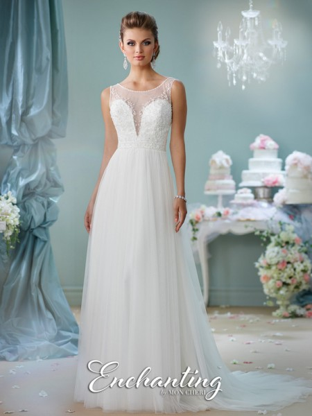 Picture of 116130 Wedding Dress - Enchanting by Mon Cheri Spring 2016 Bridal Collection