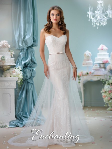 Picture of 116134 Wedding Dress - Enchanting by Mon Cheri Spring 2016 Bridal Collection