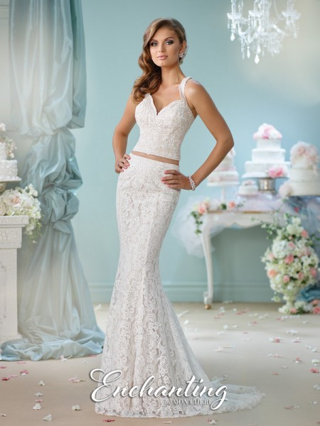 Picture of 116135 Wedding Dress - Enchanting by Mon Cheri Spring 2016 Bridal Collection