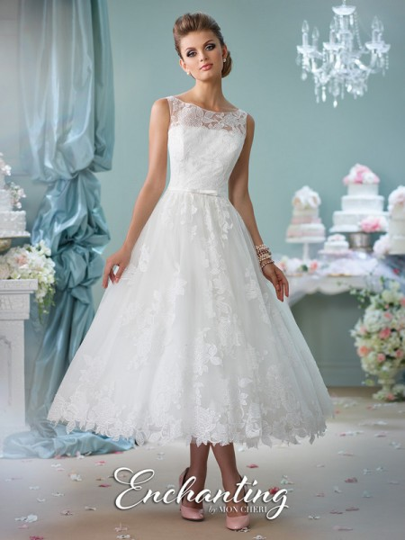 Picture of 116136 Wedding Dress - Enchanting by Mon Cheri Spring 2016 Bridal Collection