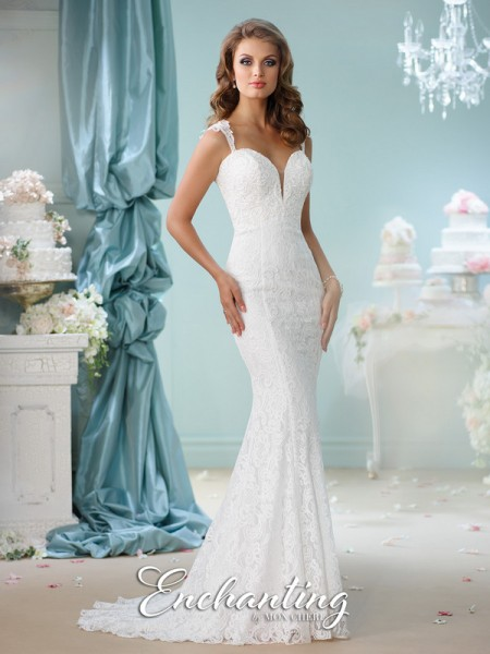 Picture of 116140 Wedding Dress - Enchanting by Mon Cheri Spring 2016 Bridal Collection