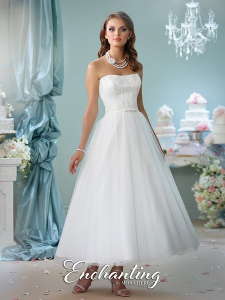 Picture of 116141 Wedding Dress - Enchanting by Mon Cheri Spring 2016 Bridal Collection