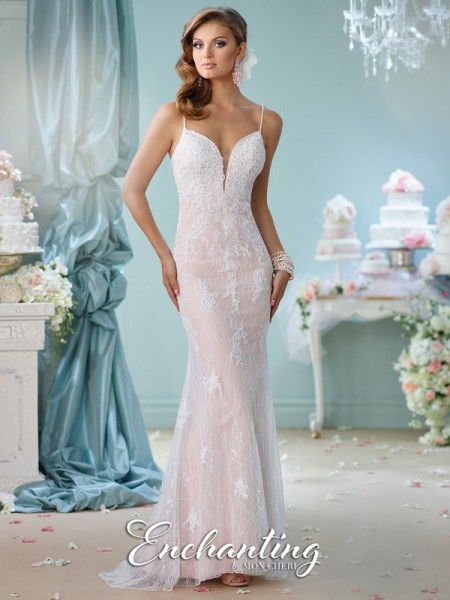 Picture of 116144 Wedding Dress - Enchanting by Mon Cheri Spring 2016 Bridal Collection