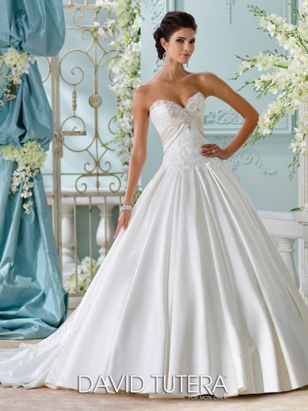 Picture of 116200 - Heloise Wedding Dress - David Tutera for Mon Cheri Spring 2016 Bridal Collection