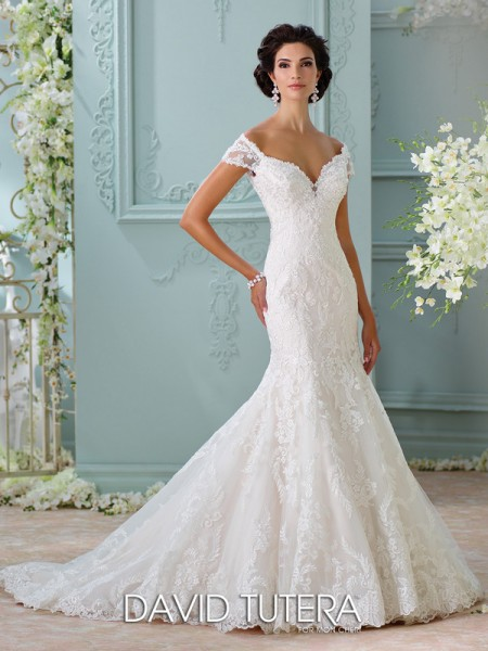 Picture of 116201 - Aura Wedding Dress - David Tutera for Mon Cheri Spring 2016 Bridal Collection