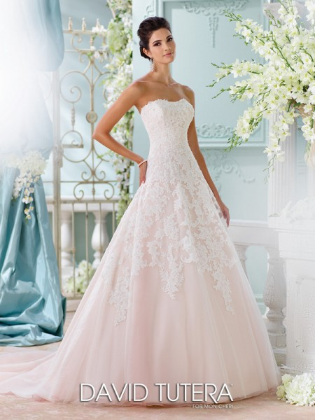 Picture of 116202 - Soleleil Wedding Dress - David Tutera for Mon Cheri Spring 2016 Bridal Collection