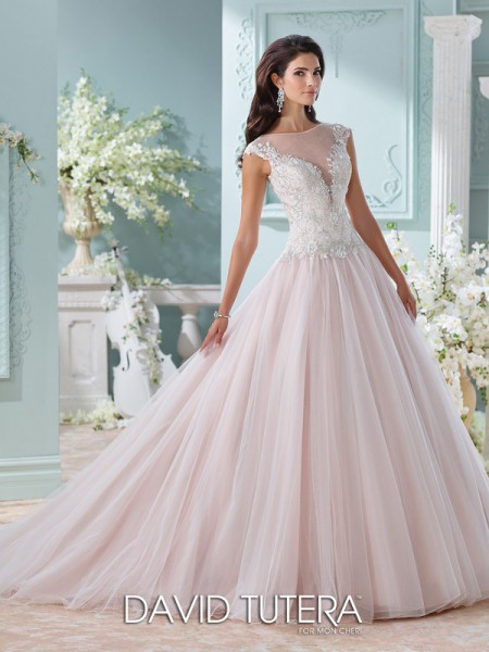 Picture of 116203 - Idalia Wedding Dress - David Tutera for Mon Cheri Spring 2016 Bridal Collection