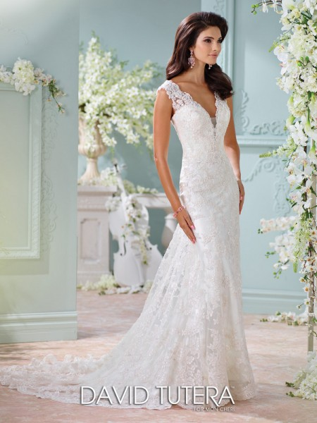 Picture of 116204 - Dayton Wedding Dress - David Tutera for Mon Cheri Spring 2016 Bridal Collection