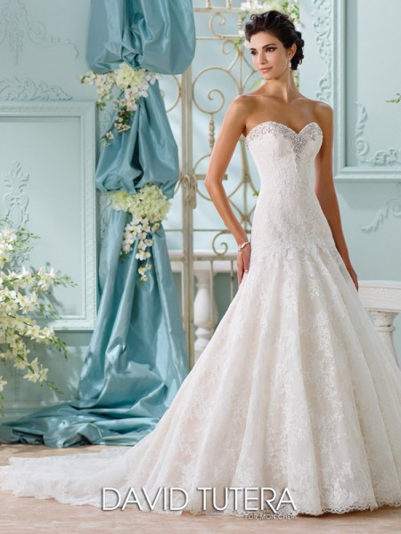 Picture of 116205 - Chasca Wedding Dress - David Tutera for Mon Cheri Spring 2016 Bridal Collection