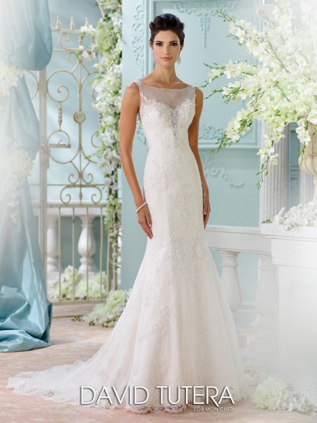 Picture of 116206 - Marigold Wedding Dress - David Tutera for Mon Cheri Spring 2016 Bridal Collection