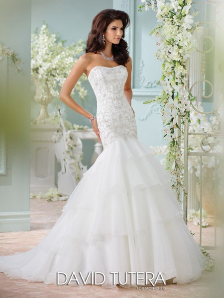 Picture of 116207 - Savi Wedding Dress - David Tutera for Mon Cheri Spring 2016 Bridal Collection