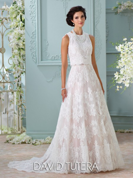 Picture of 116209 - Rhyah Wedding Dress - David Tutera for Mon Cheri Spring 2016 Bridal Collection