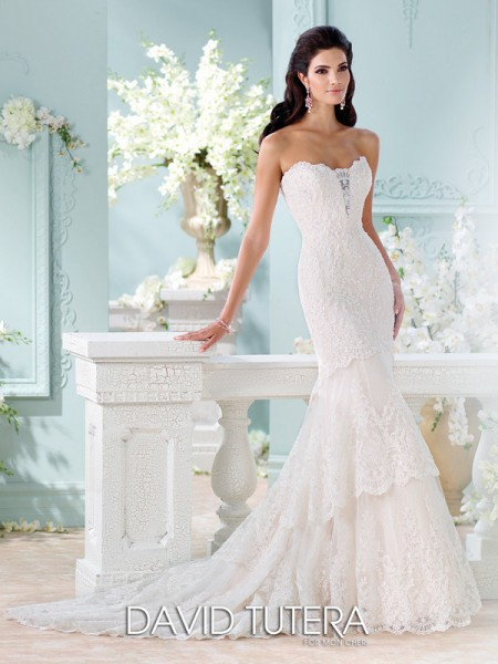 Picture of 116212 - Eliana Wedding Dress - David Tutera for Mon Cheri Spring 2016 Bridal Collection