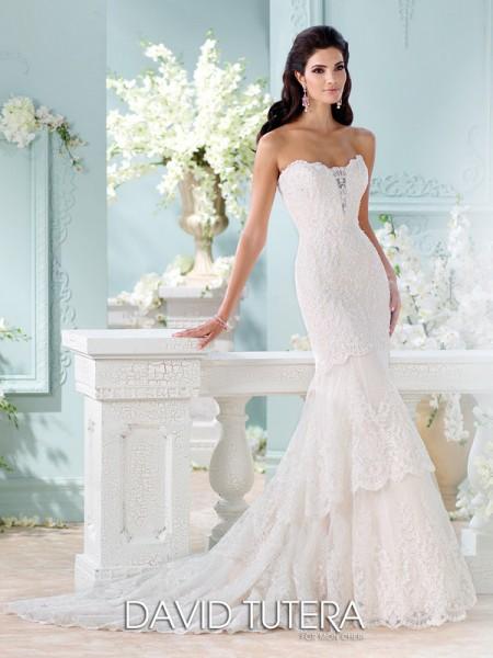 Picture of 116212 - Eliana Wedding Dress - David Tutera for Mon Cheri Spring 2016 Bridal Collection