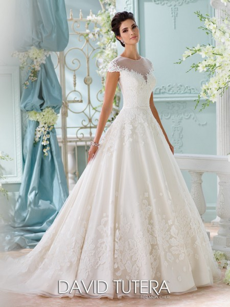 Picture of 116213 - Lene Wedding Dress - David Tutera for Mon Cheri Spring 2016 Bridal Collection