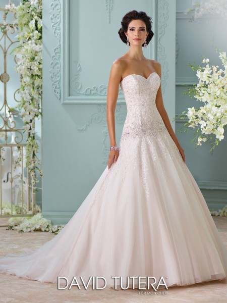 Picture of 116214 - Ora Wedding Dress - David Tutera for Mon Cheri Spring 2016 Bridal Collection