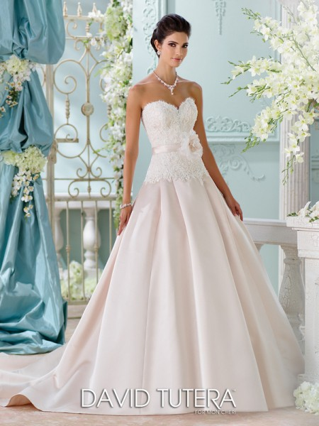 Picture of 116215 - Lucienne Wedding Dress - David Tutera for Mon Cheri Spring 2016 Bridal Collection