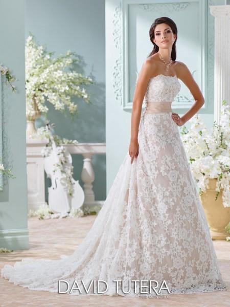 Picture of 116219 - Yalene Wedding Dress - David Tutera for Mon Cheri Spring 2016 Bridal Collection
