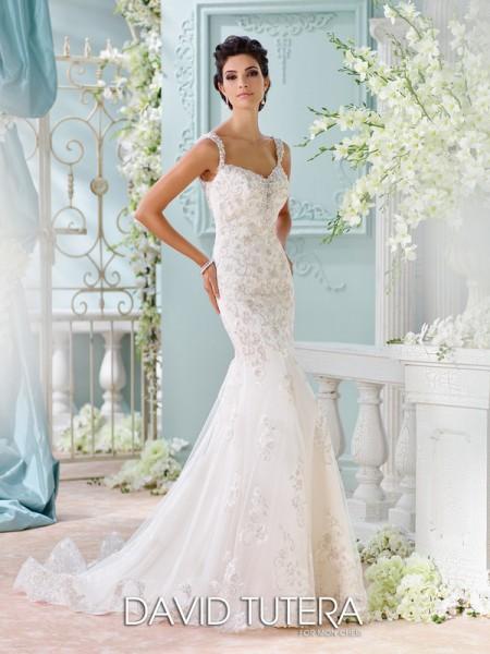 Picture of 116220 - Colesha Wedding Dress - David Tutera for Mon Cheri Spring 2016 Bridal Collection