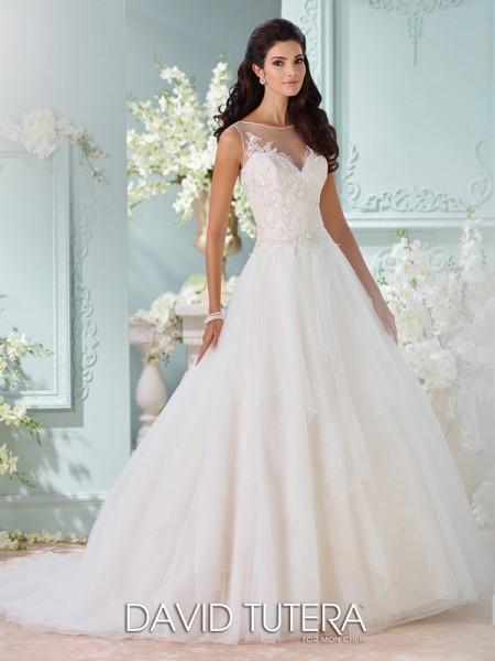 Picture of 116221 - Adena Wedding Dress - David Tutera for Mon Cheri Spring 2016 Bridal Collection