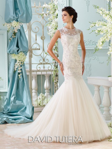 Picture of 116222 - Ica Wedding Dress - David Tutera for Mon Cheri Spring 2016 Bridal Collection