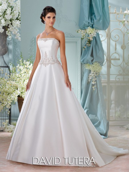 Picture of 116223 - Selena Wedding Dress - David Tutera for Mon Cheri Spring 2016 Bridal Collection