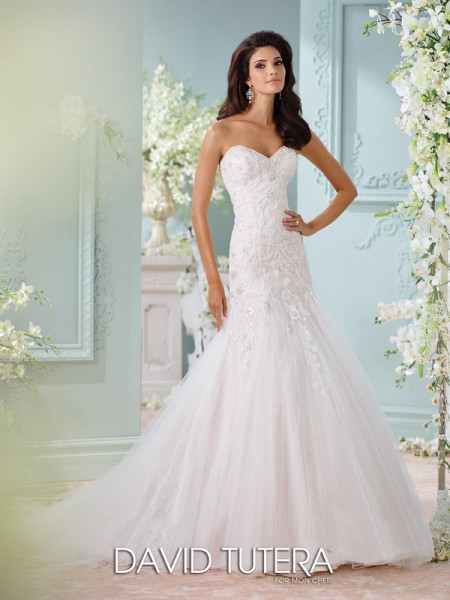 Picture of 116224 - Lita Wedding Dress - David Tutera for Mon Cheri Spring 2016 Bridal Collection