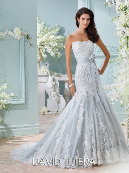 Picture of 116225 - Thea Wedding Dress - David Tutera for Mon Cheri Spring 2016 Bridal Collection
