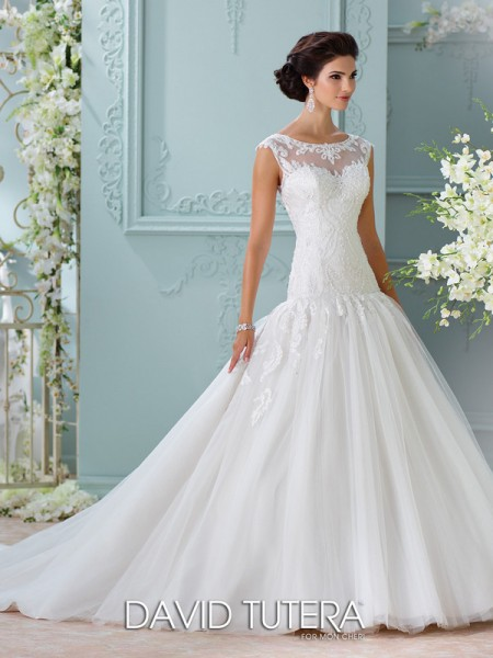 Picture of 116226 - Chiara Wedding Dress - David Tutera for Mon Cheri Spring 2016 Bridal Collection