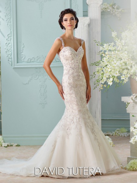 Picture of 116229 - Surya Wedding Dress - David Tutera for Mon Cheri Spring 2016 Bridal Collection