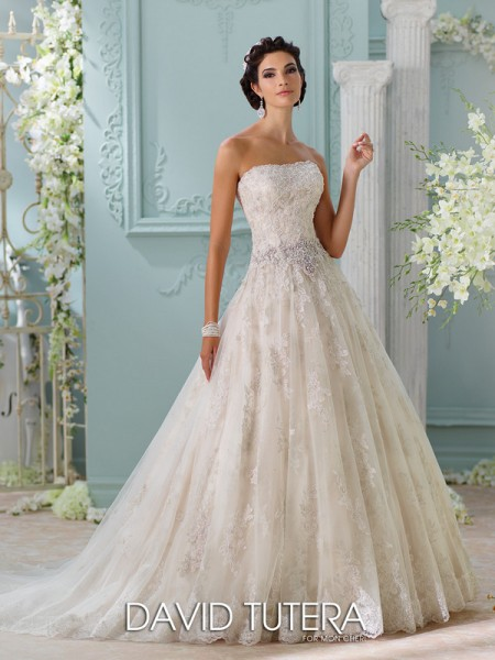 Picture of 116230 - Jelena Wedding Dress - David Tutera for Mon Cheri Spring 2016 Bridal Collection