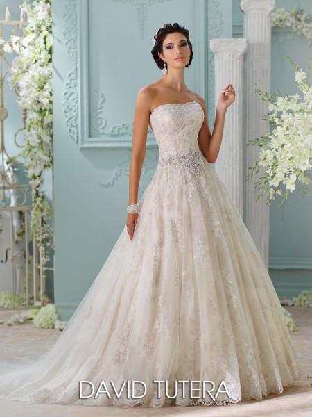 Picture of 116230 - Jelena Wedding Dress - David Tutera for Mon Cheri Spring 2016 Bridal Collection