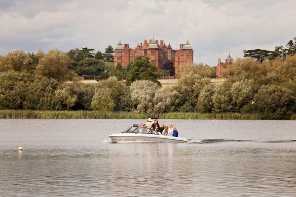 Boat trip across lake