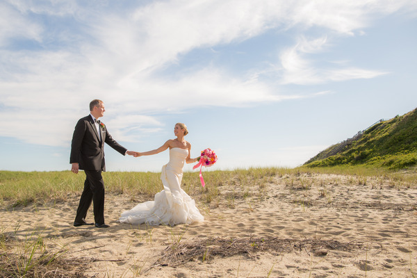 A Colourful Wedding on Nantucket Island