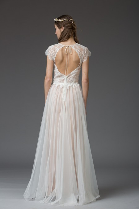 Picture of Back of Alessandria Wedding Dress - Katya Katya Shehurina Venice 2016 Bridal Collection