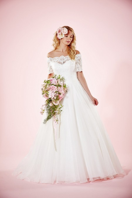Picture of Alexandria Wedding Dress - Charlotte Balbier Willa Rose 2016 Bridal Collection