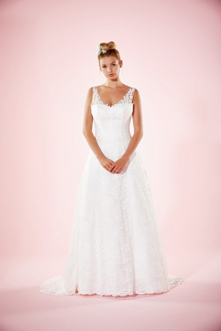 Picture of Aliona Wedding Dress - Charlotte Balbier Willa Rose 2016 Bridal Collection